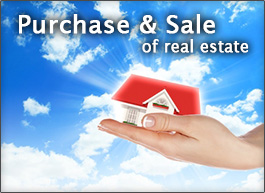 PURCHASE & SALE OF REAL ESTATE